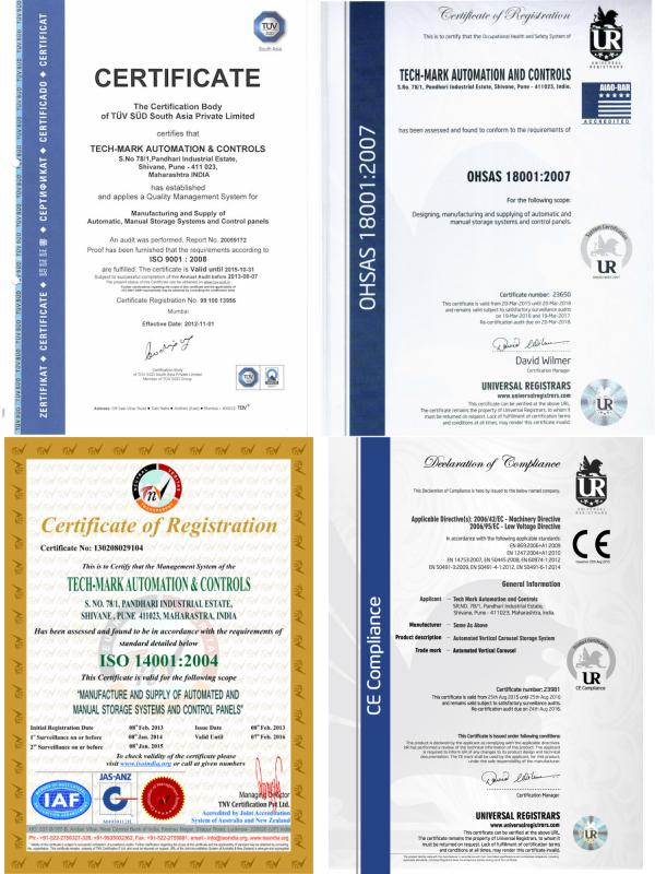 Combined Image for ISO Certificates